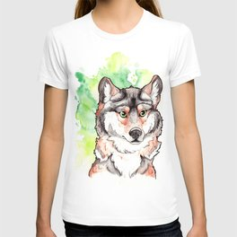 Mexican Gray Wolf Bust T-shirt