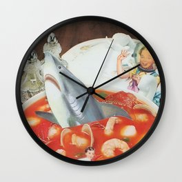 See Food Surprise Wall Clock