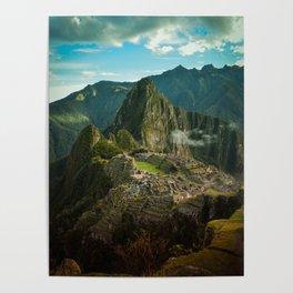 Machu Picchu (color) Poster