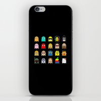 pac man iPhone & iPod Skins featuring pac man by sEndro