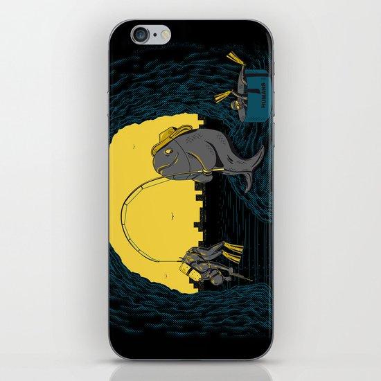 Fisher Fish iPhone & iPod Skin