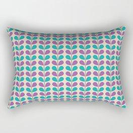 Flowe pattern Rectangular Pillow