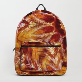 Autumn Colors Kaleidoscope Mandala Fashion Design Backpack
