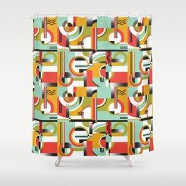Bauhaus Shower Curtain