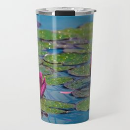 Two water lilies Travel Mug