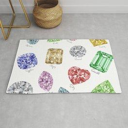 Gems pattern Rug