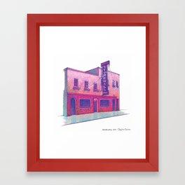 NYC Pride: Stonewall Inn Framed Art Print