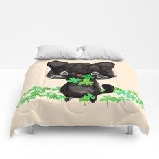 The Luckiest Cat Comforters