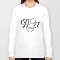 scandal Long Sleeve T-shirts featuring Scandal - Olivia Pope & Associates by leftyprints