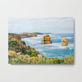 Along the Great Ocean Road Fine Art Print  • Travel Photography • Wall Art Metal Print