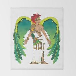 St. Raphael Throw Blanket