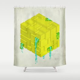 Cubic Shower Curtain