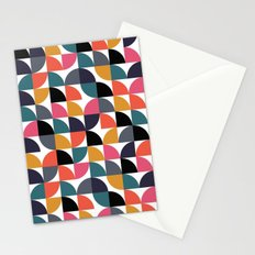 Quarter pattern Stationery Cards