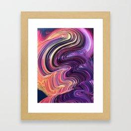Brushstorke Framed Art Print