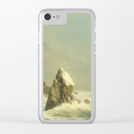 Last Rock Standing (color version) Clear iPhone Case
