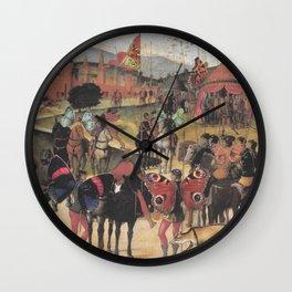 Wing Men Wall Clock