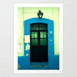 Blue Door NO2 Art Print