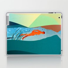 In the water under the sea Laptop & iPad Skin