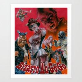 Bizarro Au Go-Go  Art Print