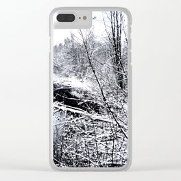 River Frozen Clear iPhone Case