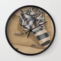 ZEBRA MAMA  Wall Clock