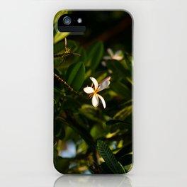 Hawaiin Flower iPhone Case