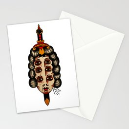 Queen of daggers Stationery Cards