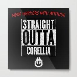 Straight Outta Corellia Metal Print
