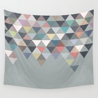 nordic Wall Tapestries featuring Nordic Combination 20 by Mareike Böhmer