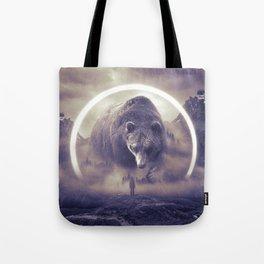 aegis II   bear Tote Bag