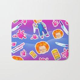 1997 Neon Rainbow Evil Murder Good Guy Doll Bath Mat