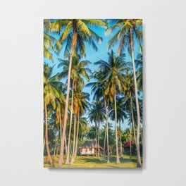 Tropic village Metal Print