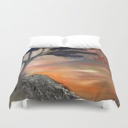 The River Styx Meet Me On The Other Side Duvet Cover