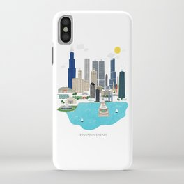 Chicago Illustration iPhone Case