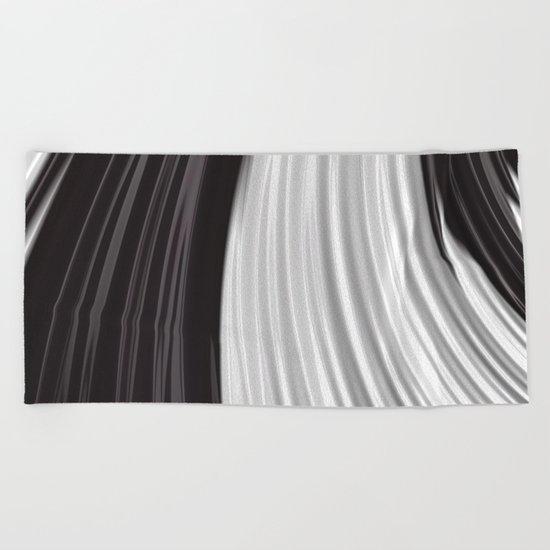 Piano Keys Beach Towel