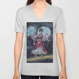 First Fight Magician Girl Unisex V-Neck