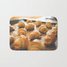 Baking Mini Croissants Bath Mat