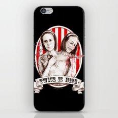 Tattler Twins (edited) iPhone & iPod Skin
