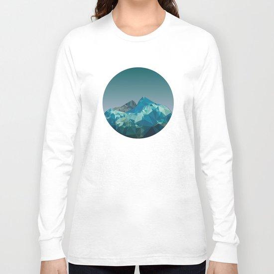 Night Mountains No. 36 Long Sleeve T-shirt