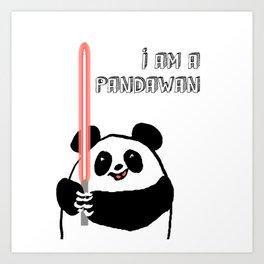 I'm a Pandawan Art Print