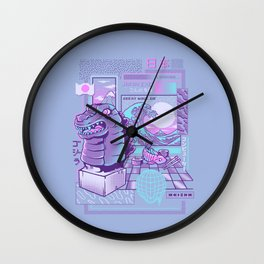 Japan wave Wall Clock