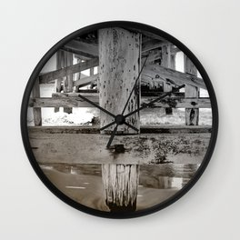 Beneath The Pier Wall Clock