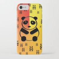 pandas iPhone & iPod Cases featuring Pandas by Gaspar Avila