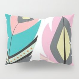 2 Feathers Pillow Sham