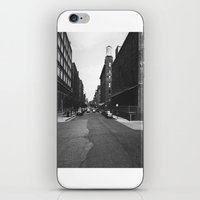 denver iPhone & iPod Skins featuring Denver Stroll by fat dominic