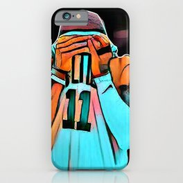 basketball star poster iPhone Case