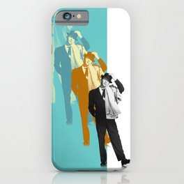 Frank Steps Out Again iPhone Case