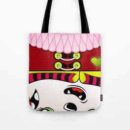 Beware the Square II Tote Bag