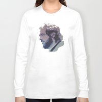 stanley kubrick Long Sleeve T-shirts featuring Kubrick by Davidjonesart