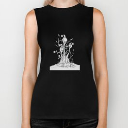 Podders original pen and ink Biker Tank